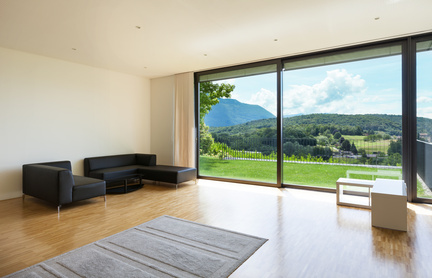 Bodentiefe Fenster in Einfamilienhäusern
